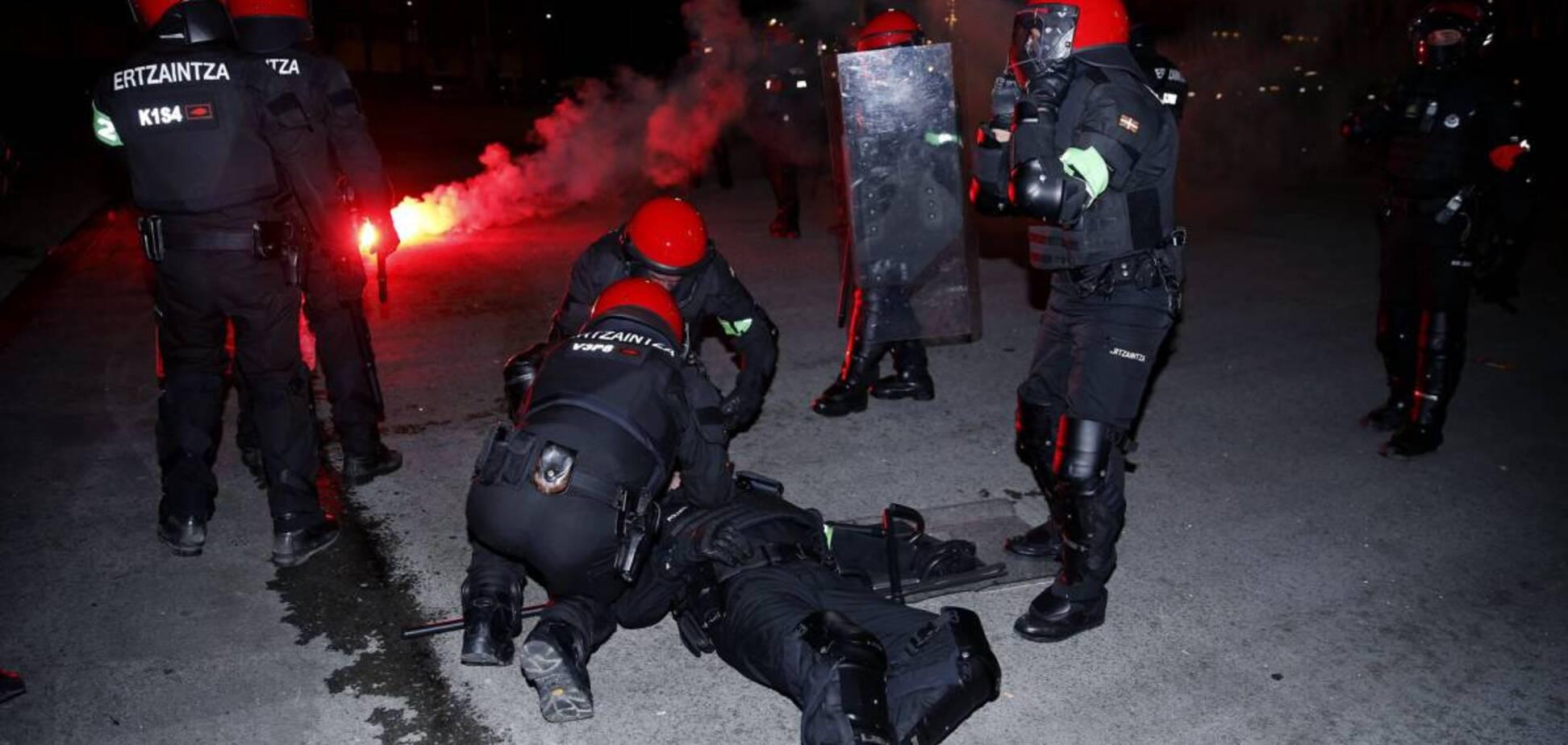 Російські ультрас вбили поліцейського в Іспанії: опубліковано відео