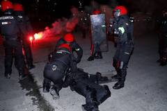 Российские ультрас убили полицейского в Испании: опубликовано видео