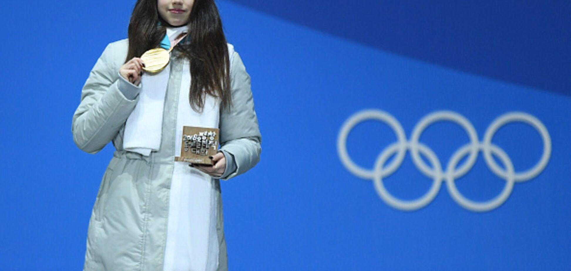 Не сдержалась! Олимпийская чемпионка из России устроила демарш из-за гимна после завоевания 'золота' в Пхенчхане