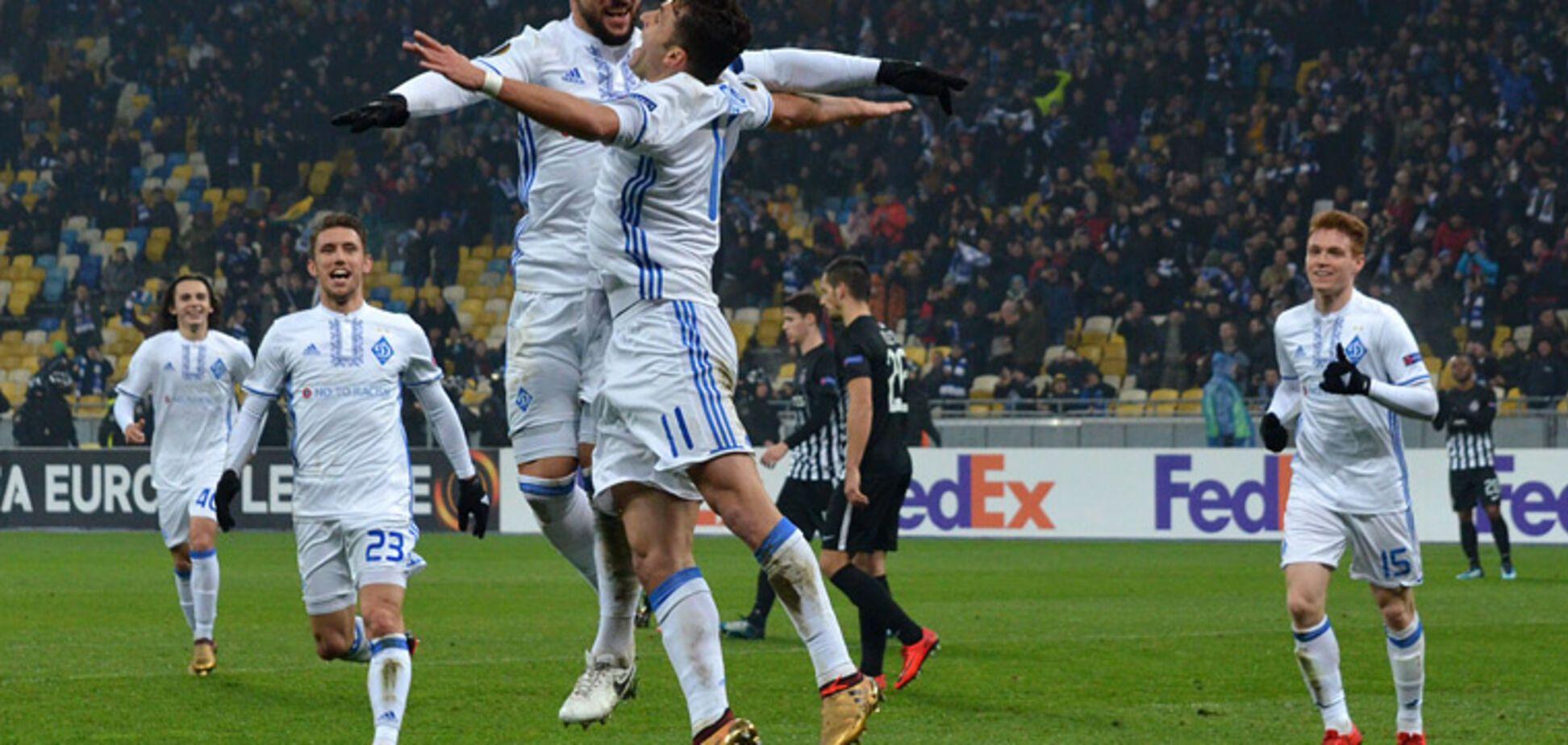 'Динамо' отримало суперника в 1/8 фіналу Ліги Європи