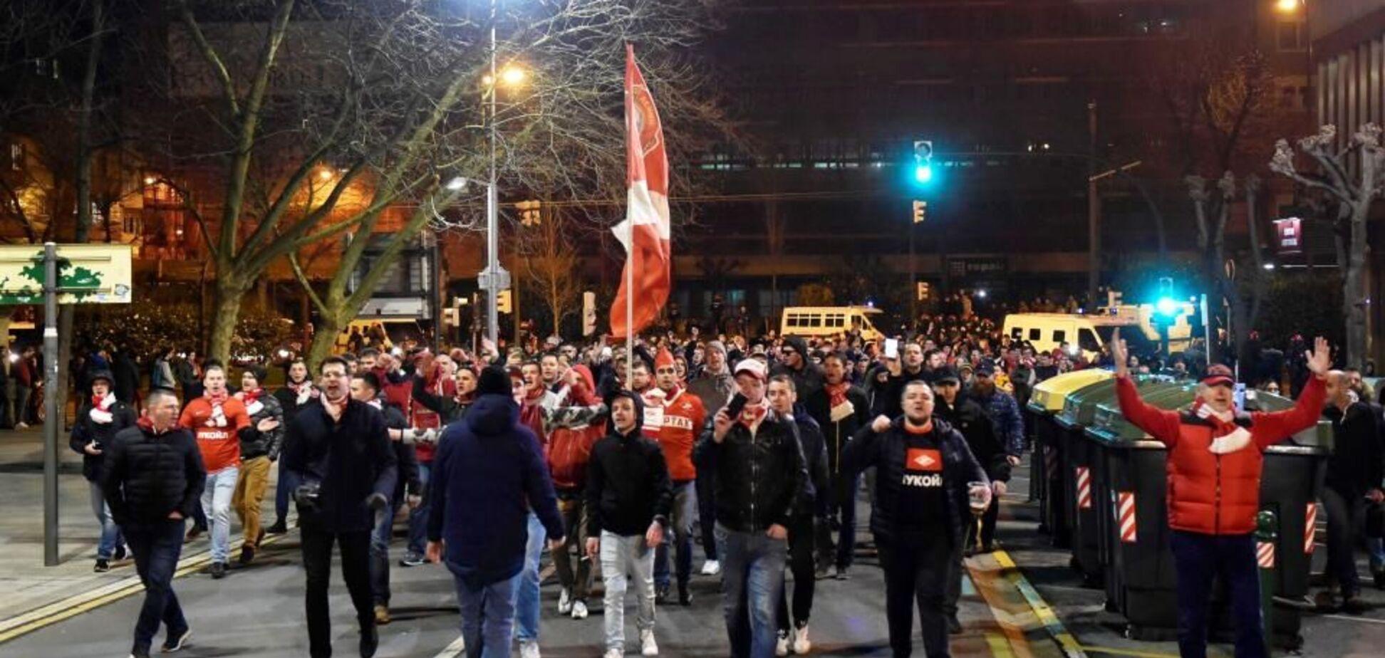 'Не хочемо вас бачити!' В Іспанії прийшли в лють від російських футбольних хуліганів