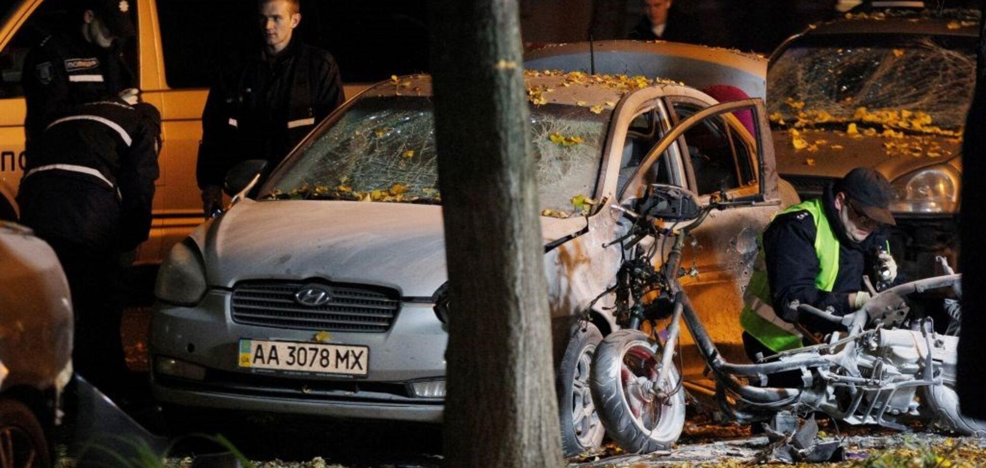 Замах на Мосійчука в Києві: затримано підозрюваних у вибуху