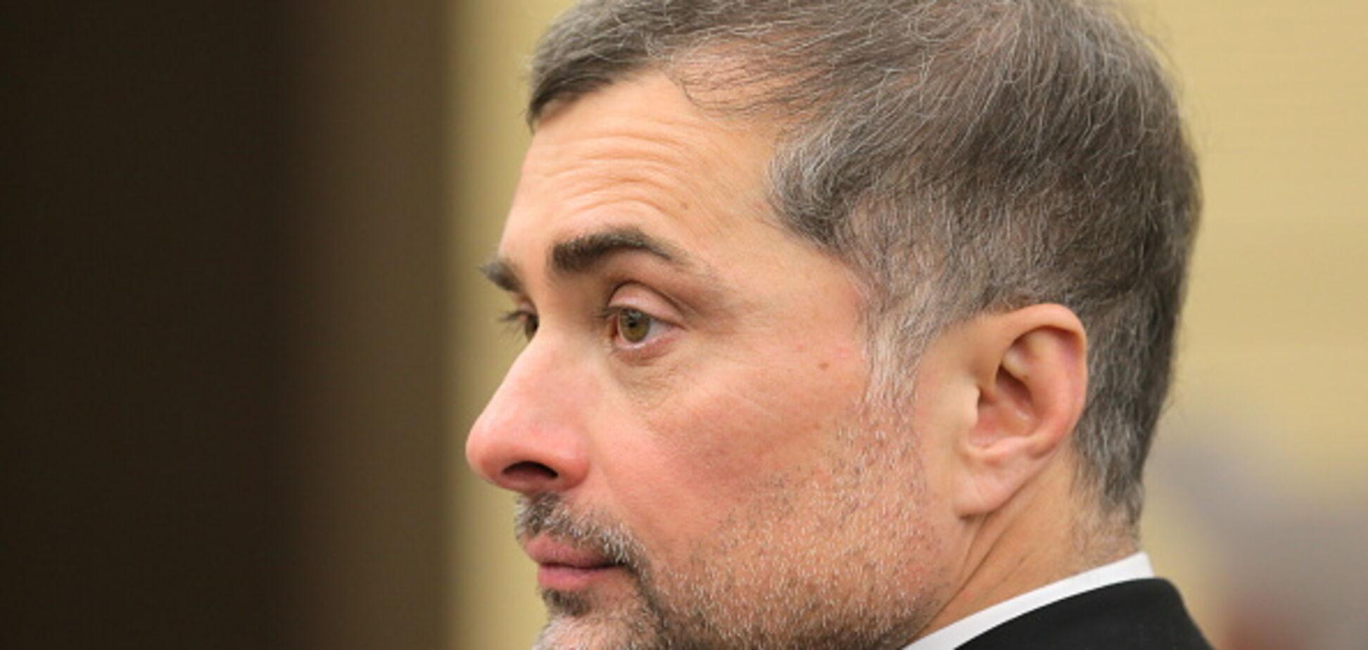 'Выпьем за армию нашу могучую': Сурков поздравил террористов 'Л/ДНР' с 23 февраля
