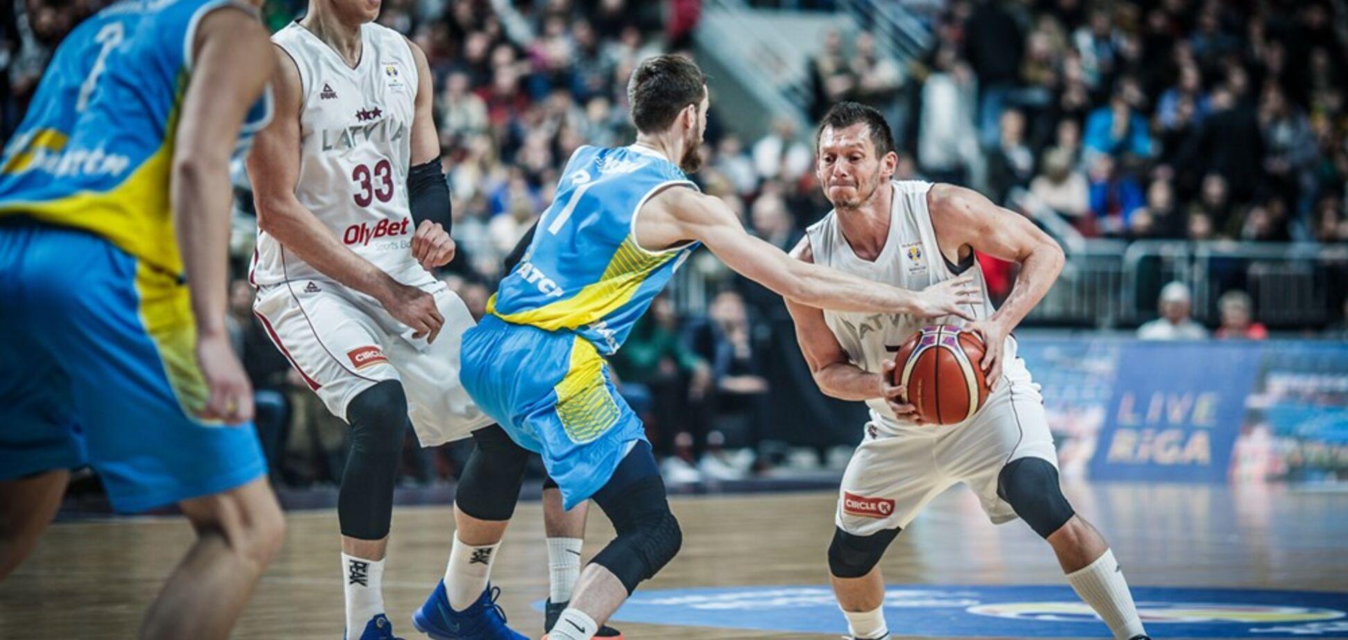 Збірна України здобула впевнену перемогу на виїзді у відборі на Кубок світу з баскетболу-2019