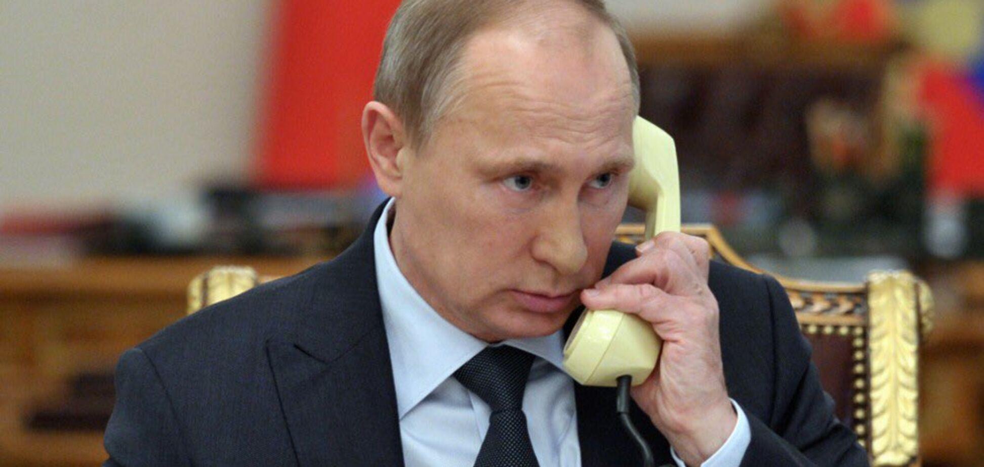 Макрон и Меркель позвонили Путину из-за Сирии