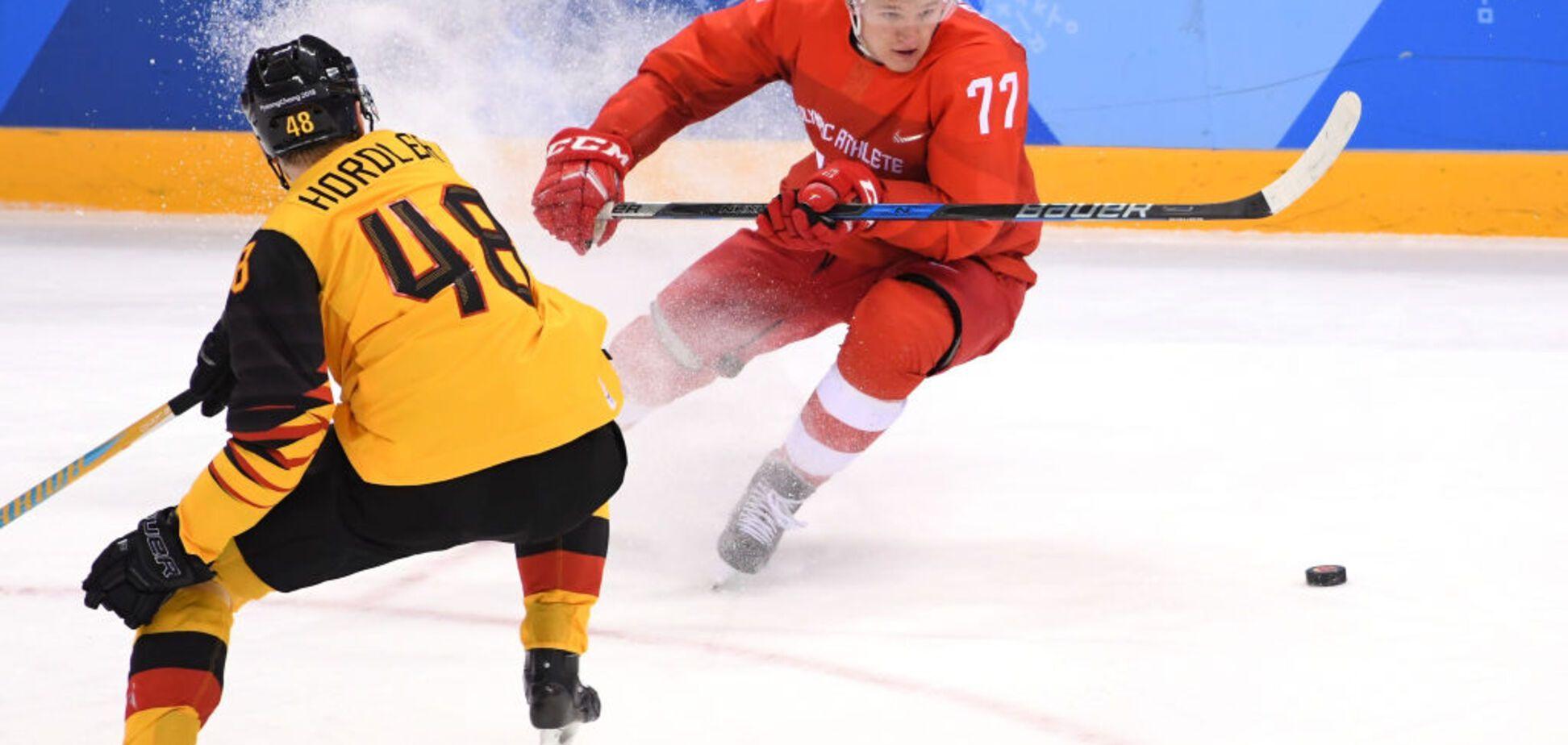 Российские хоккеисты чудом избежали позора в финале Олимпиады-2018