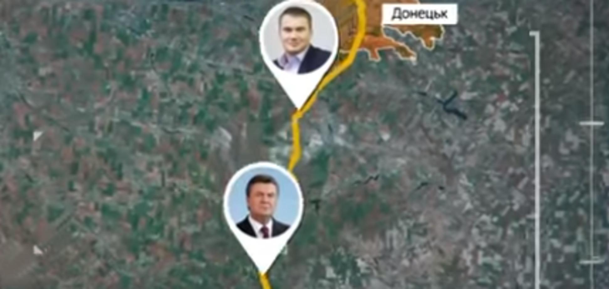 Как Янукович сбежал в Крым