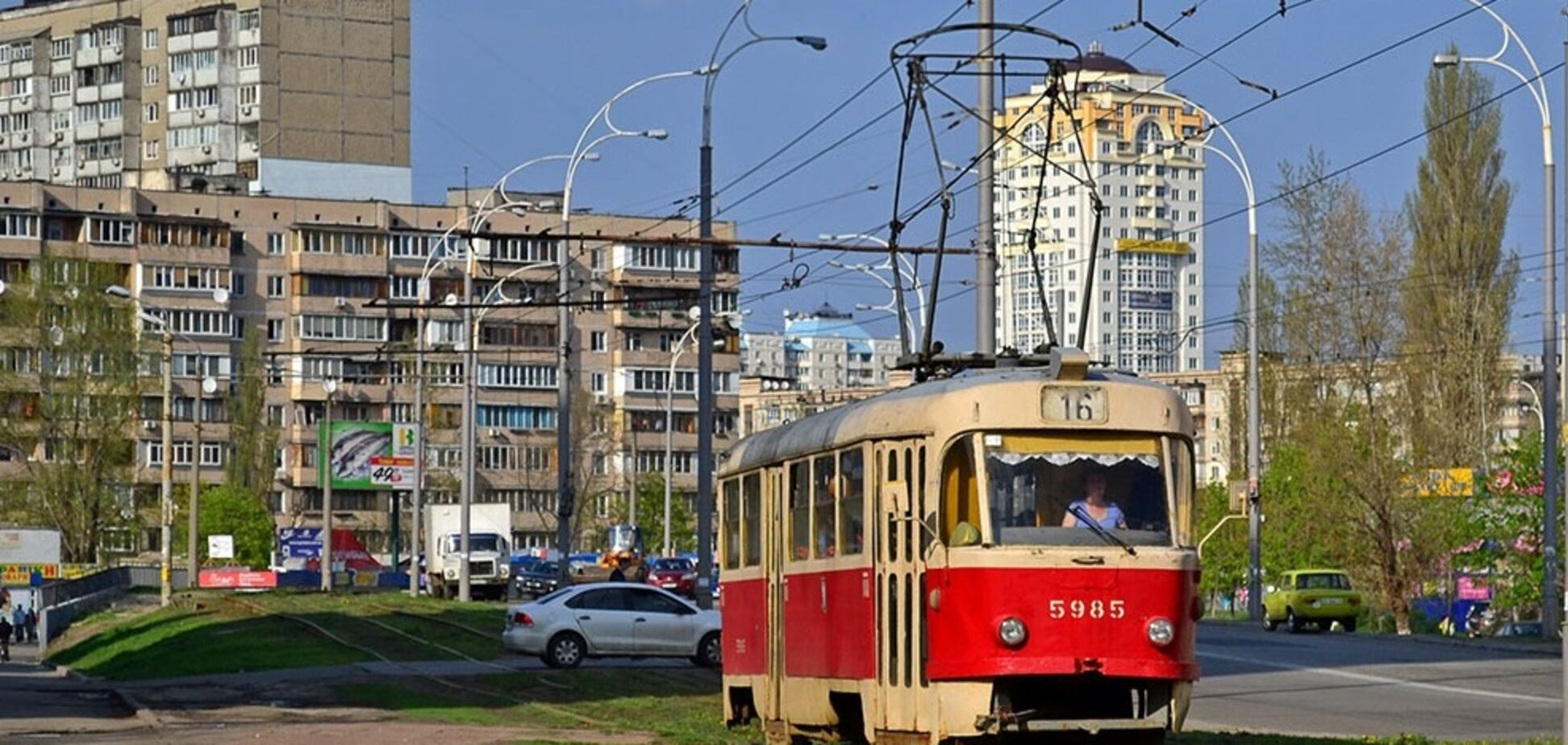 Популярный киевский трамвай кардинально изменит маршрут