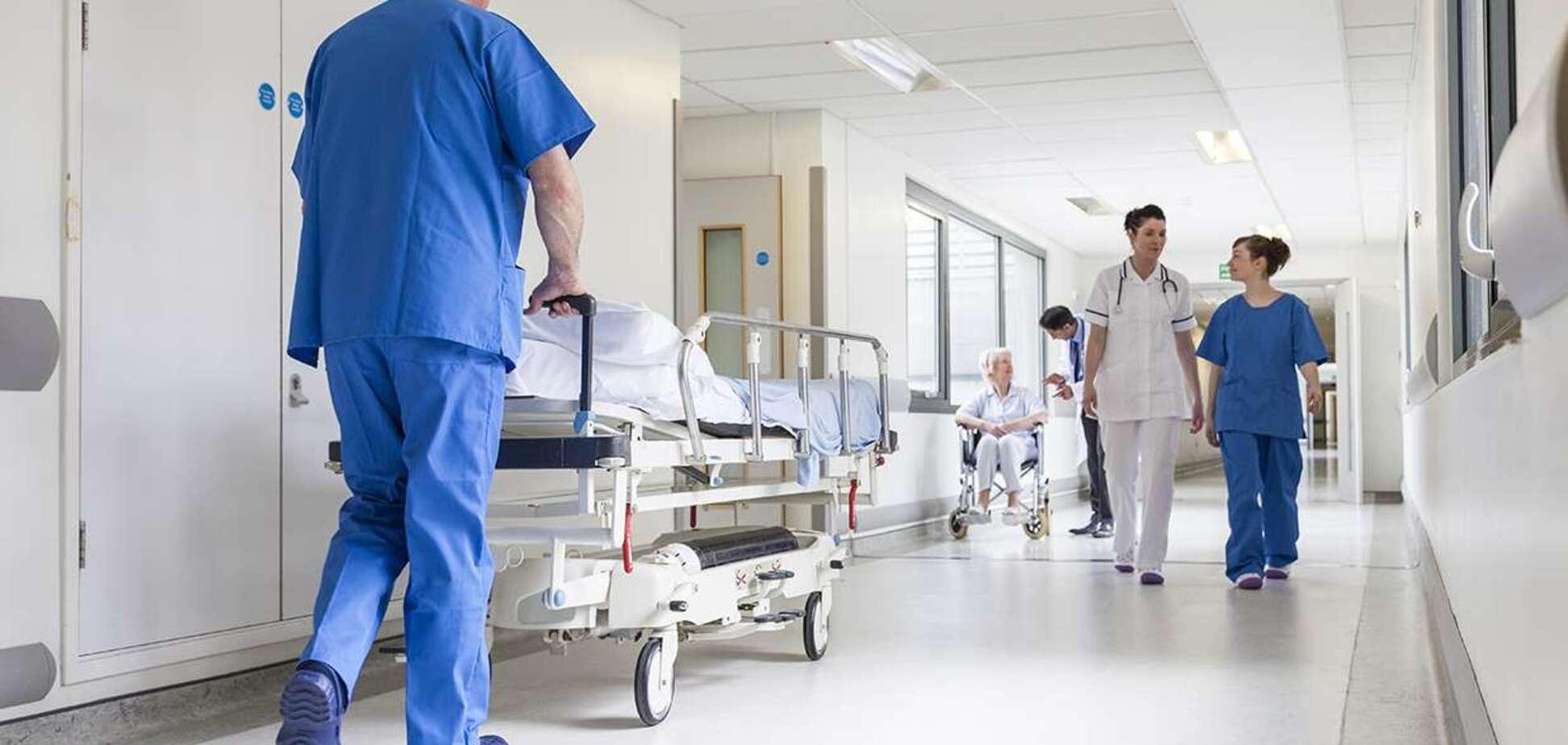 'Могильный' дизайн в больнице на Львовщине вызвал волну насмешек