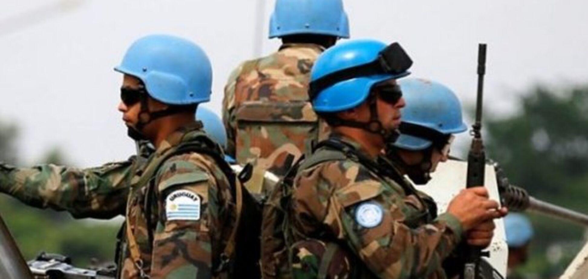 Кремль VS 'голубые каски': патовость ситуации