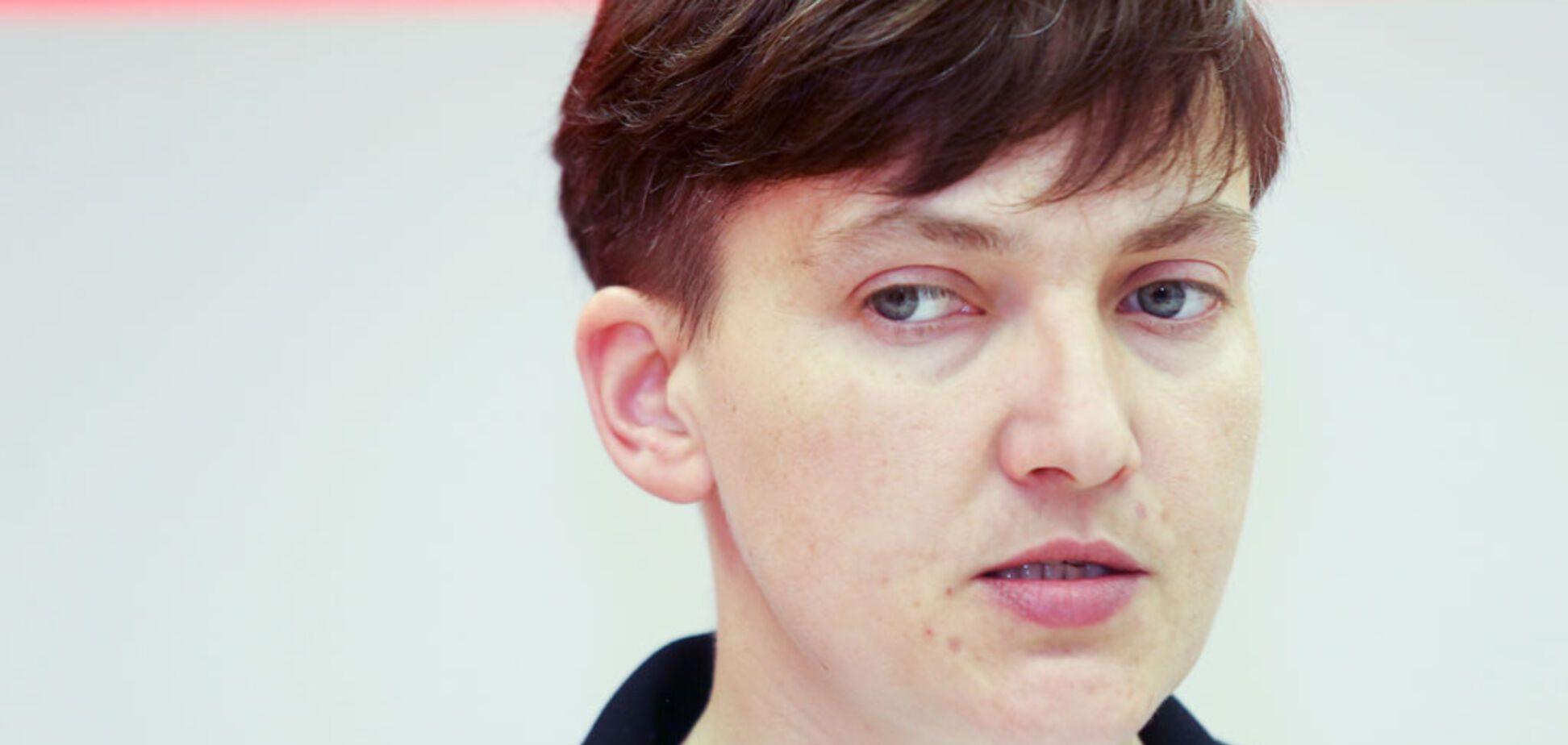 'Тяжко ей': Савченко подловили на странном поведении в Раде