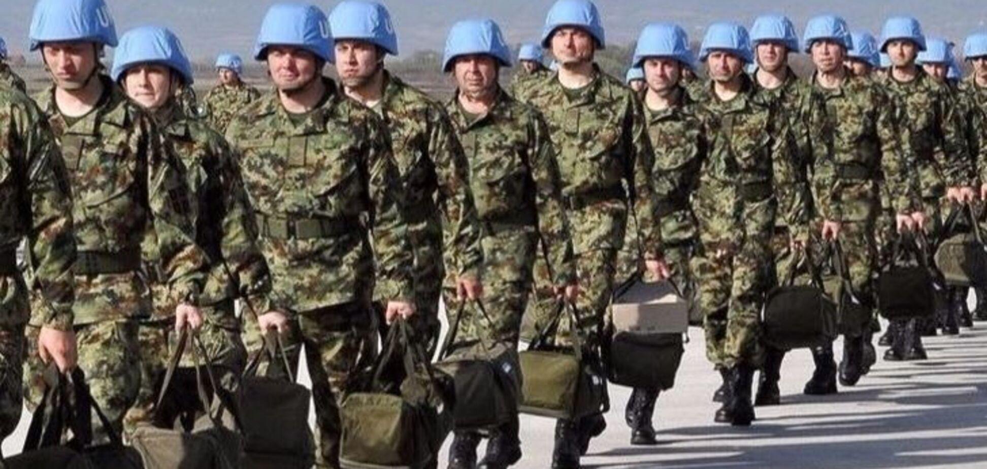 Введення миротворців на Донбас: в Україні назвали терміни