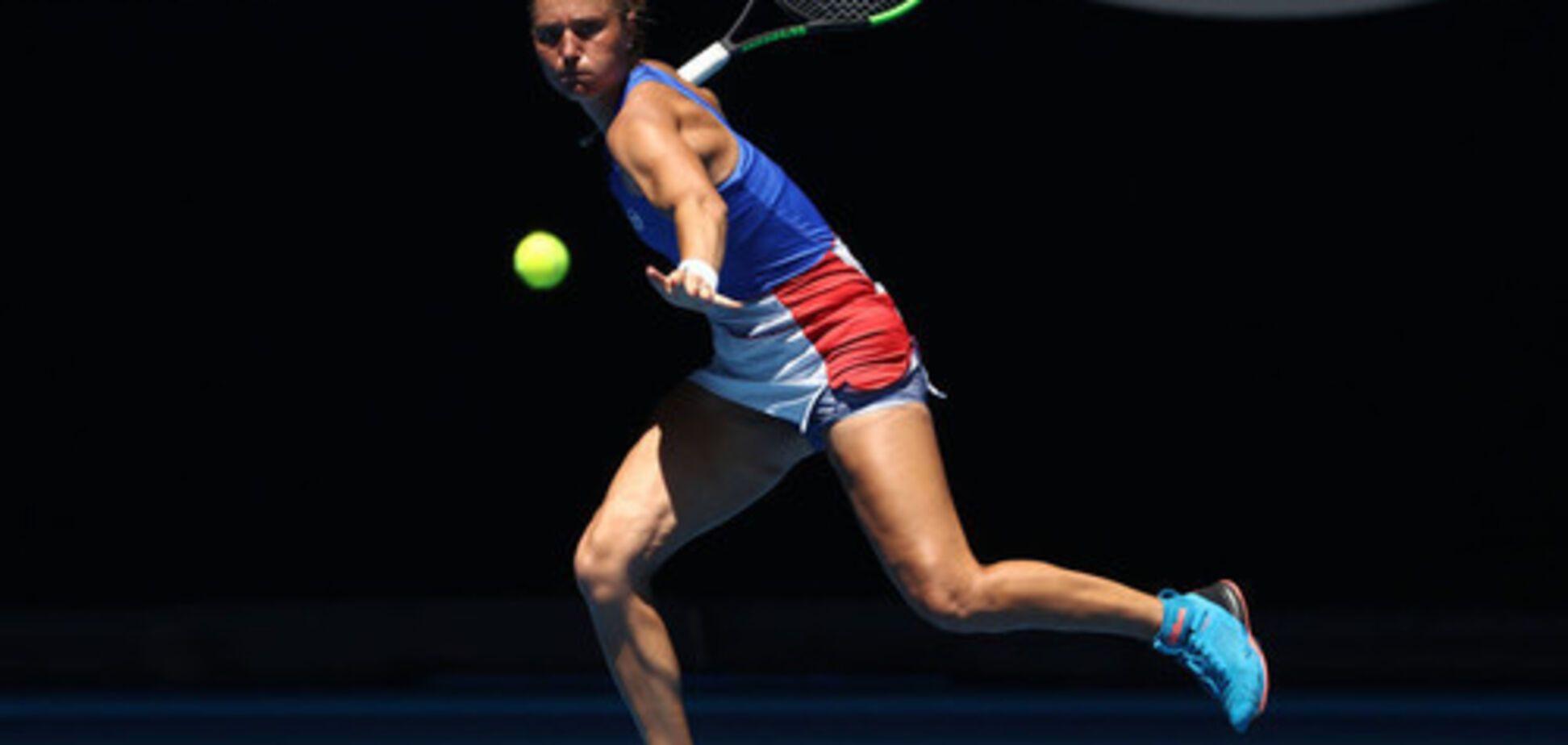 Українська тенісистка здобула вольову перемогу над росіянкою у США