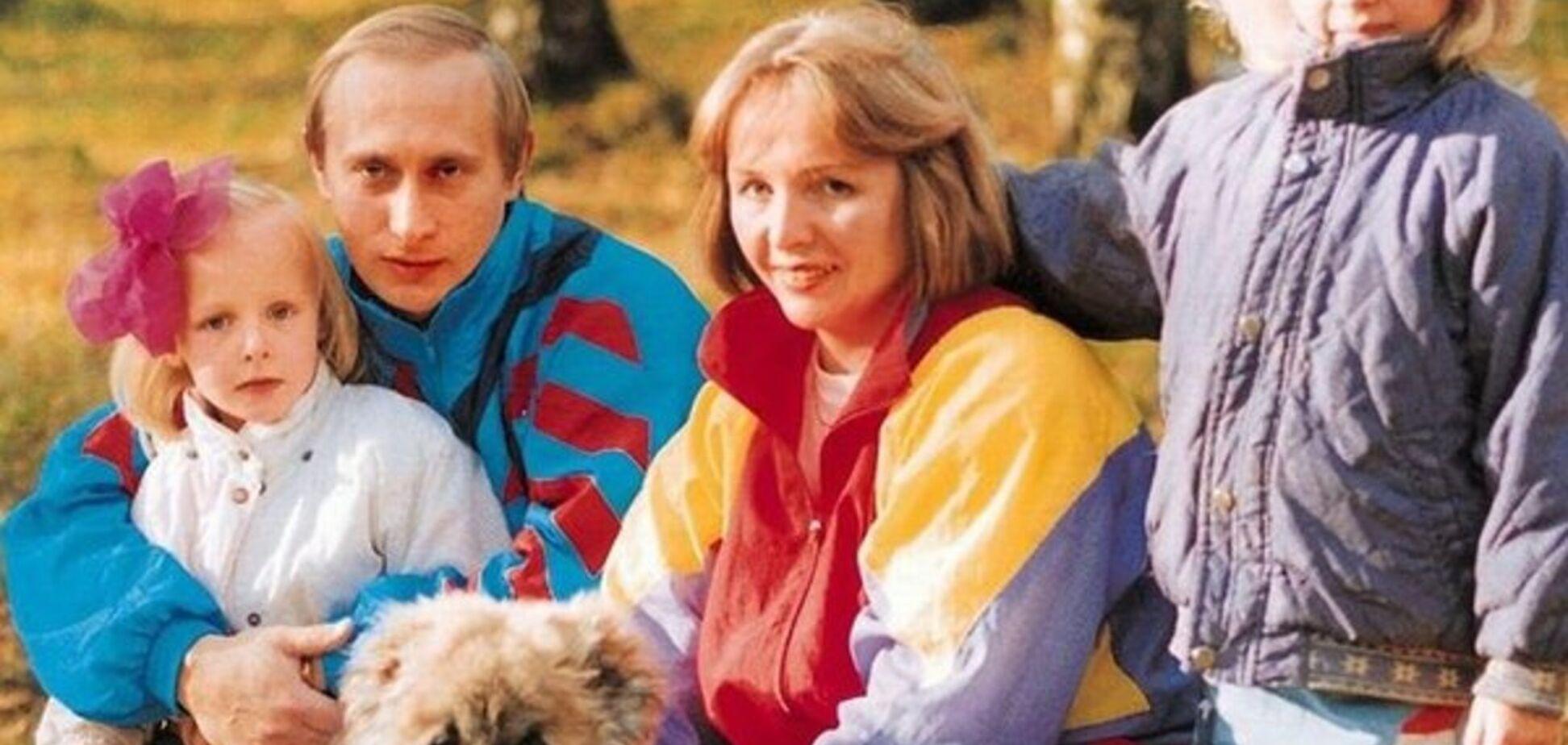 Владимир Путин с семьей