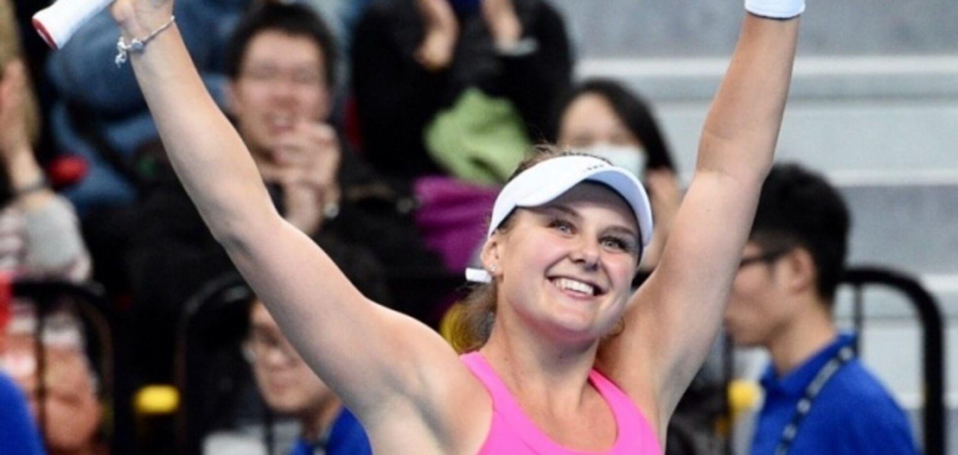 Українська тенісистка вперше в кар'єрі вийшла у фінал турніру WTA