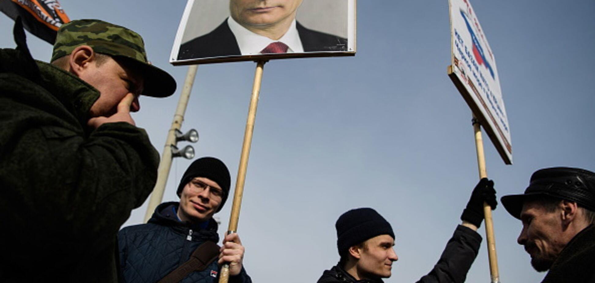 Залякати Україну: німецькі ультраправі прибули до Криму