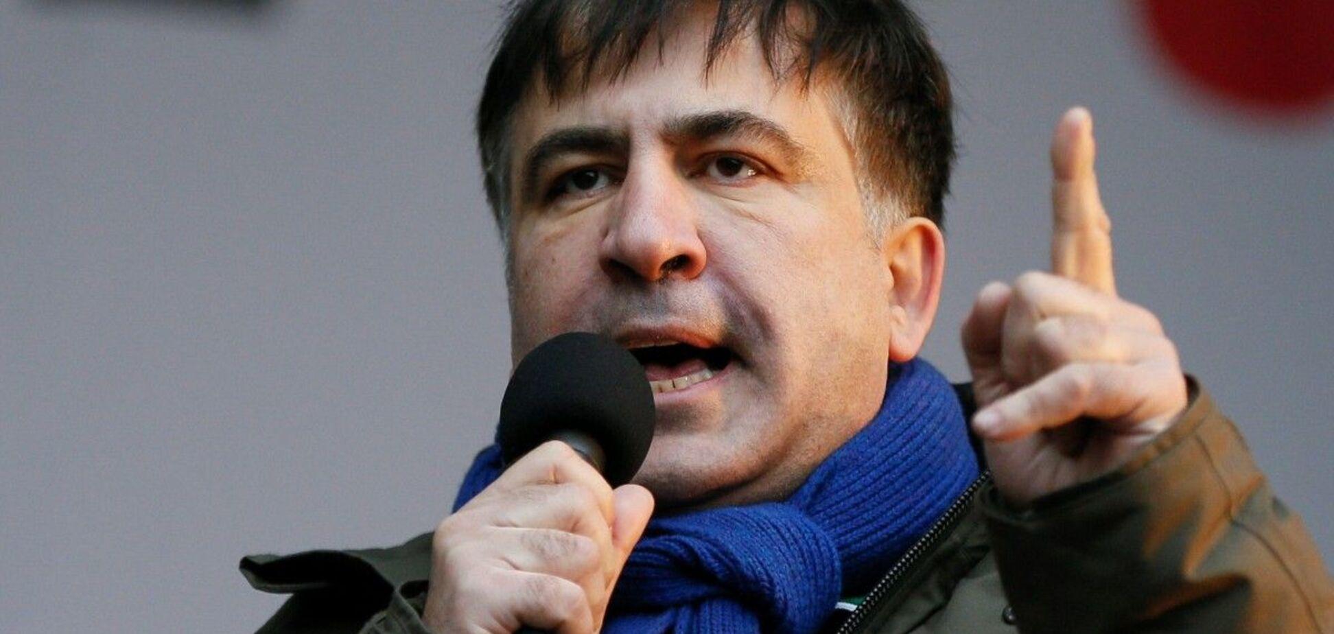 Саакашвили сменил спонсора