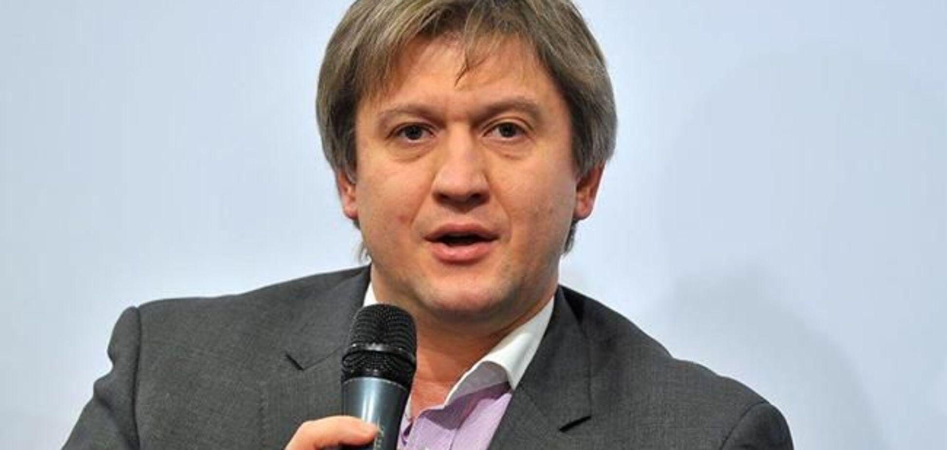 ДФС: Данилюк зобов'язаний доплатити 517 тисяч грн податку