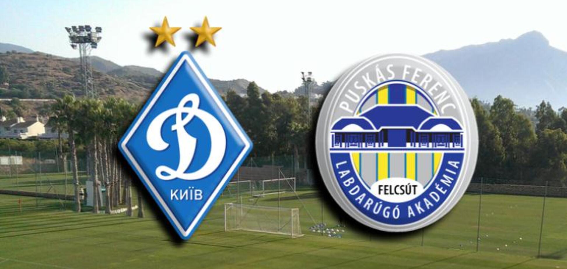'Динамо' програло угорської 'дочці', пропустивши двічі на останній хвилині