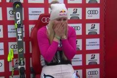 Кошмарное падение самой перспективной горнолыжницы США повергло в ступор комментаторов