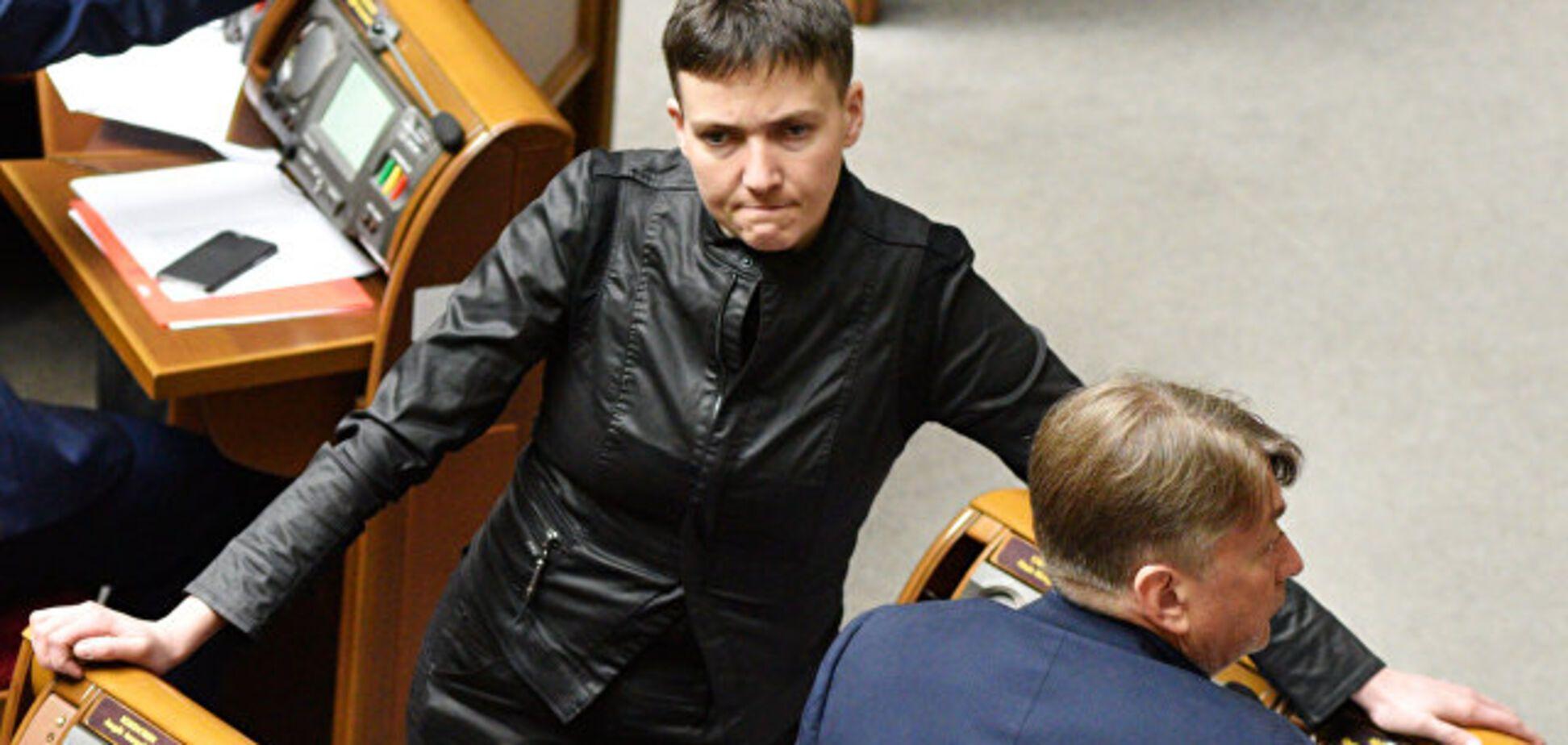 Савченко, яка їздила до ватажків 'Л/ДНР', голосувала за скасування 'реінтеграції Донбасу'