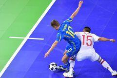 Украина драматично проиграла Испании в четвертьфинале чемпионата Европы по футзалу