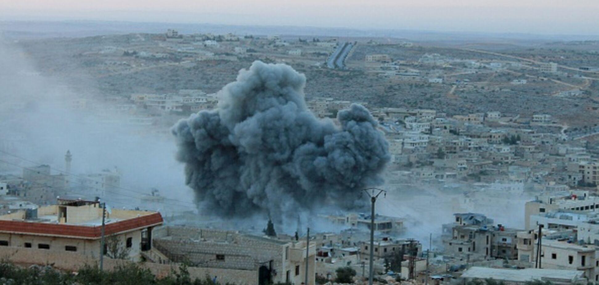 Росія скинула бомби на сирійський Ідліб: кількість загиблих зростає