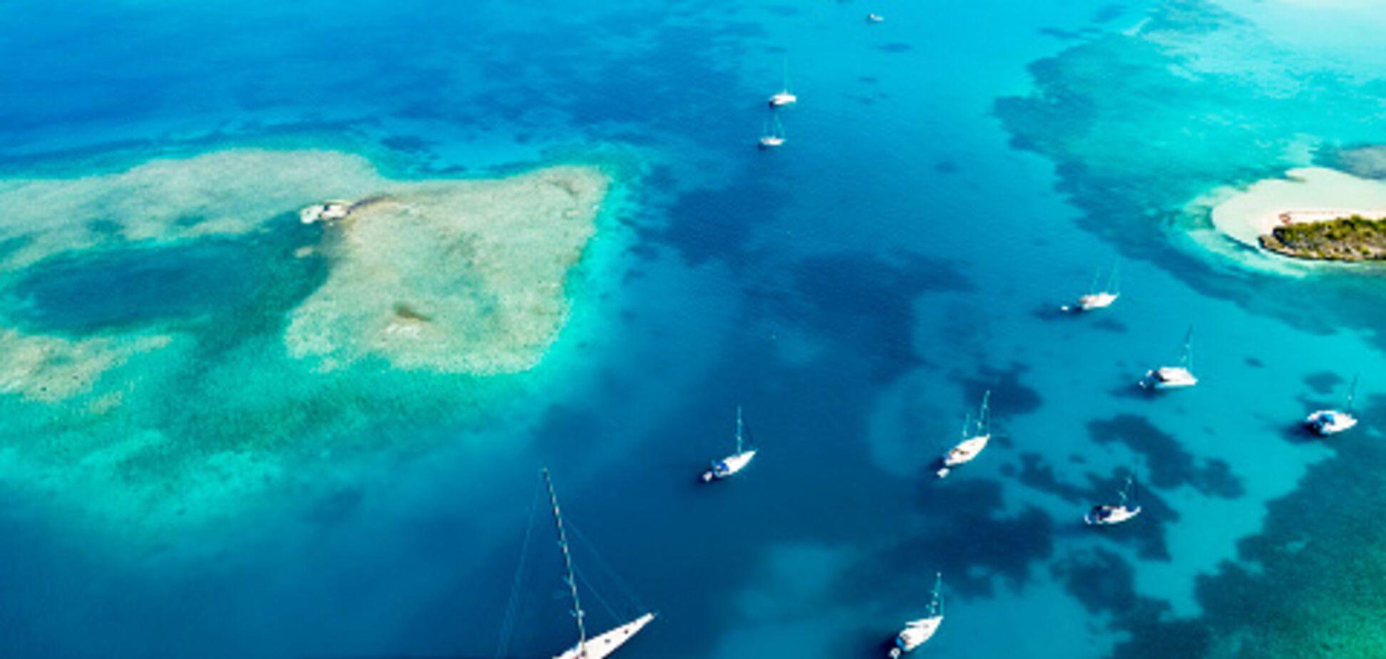 Райские пляжи: Украина получила 'безвиз' с государством в Карибском море