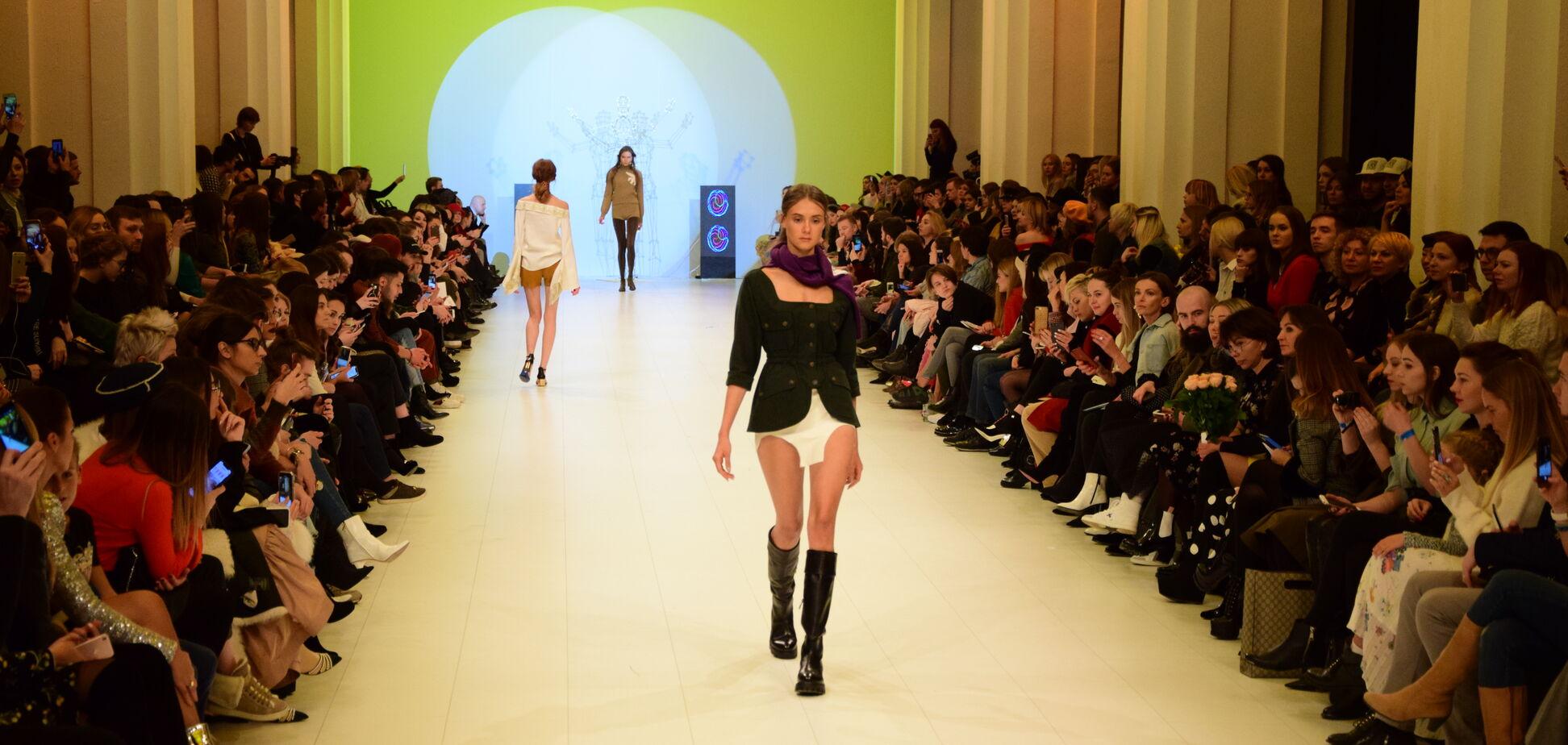 Ukrainian Fashion Week: топ дивакуватого вбрання третього дня