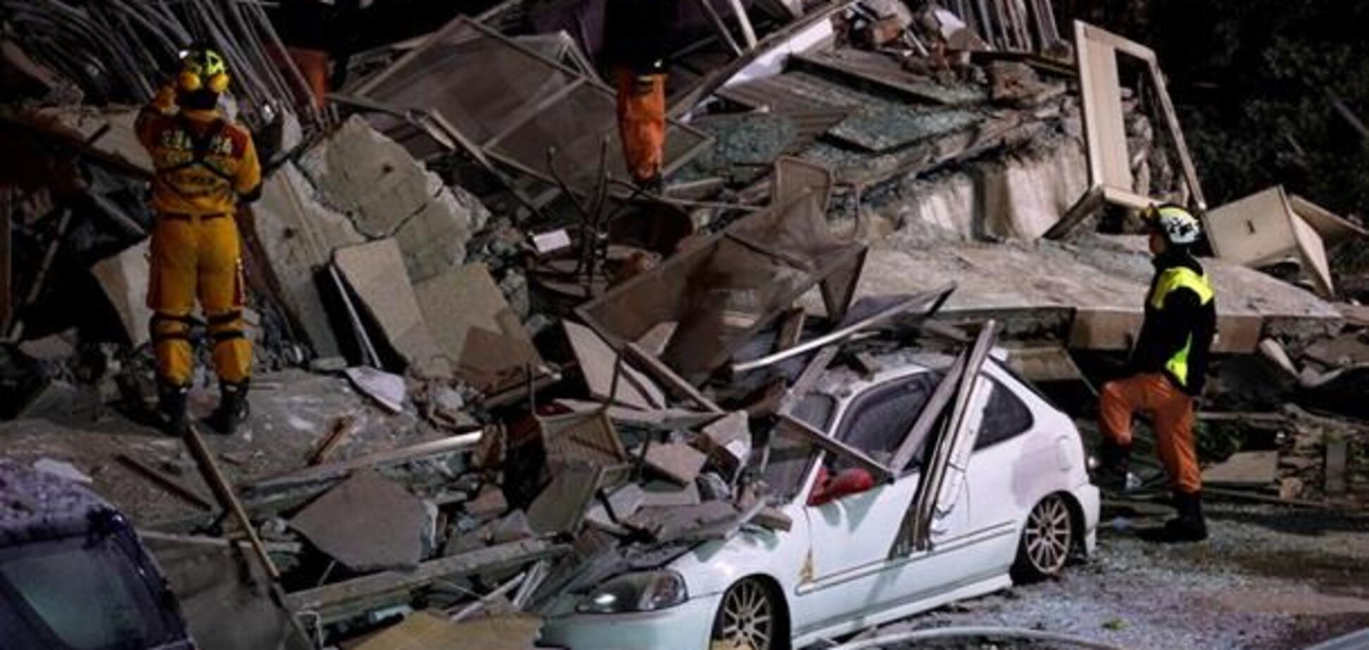 Землетрус на Тайвані: опубліковано моторошне відео наслідків