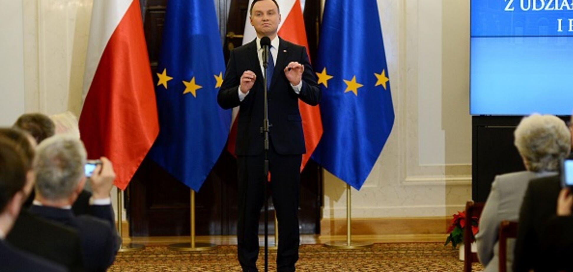 Президент Польщі підписав закон з територіальними претензіями до України
