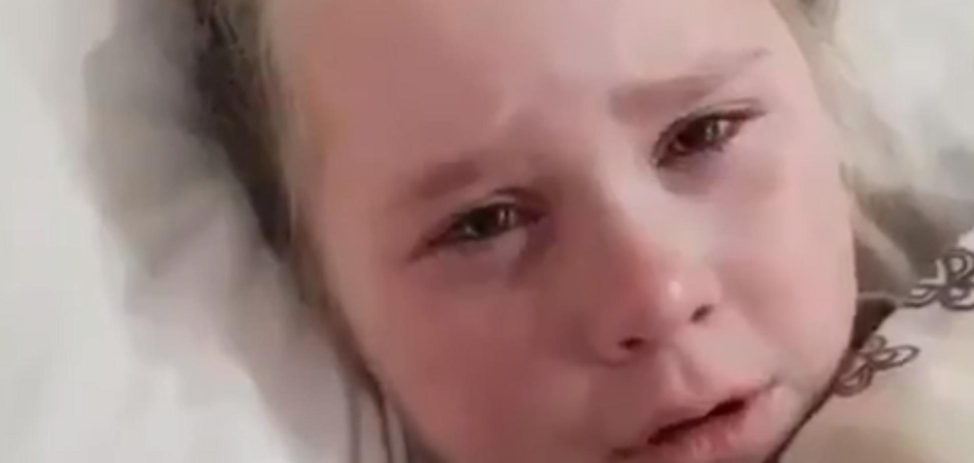 'Хочется убиться об асфальт': маленькая россиянка устроила истерику из-за Путина