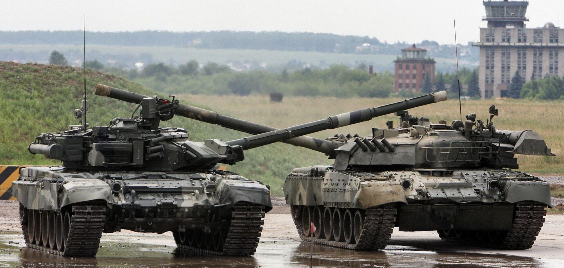 танки террористов