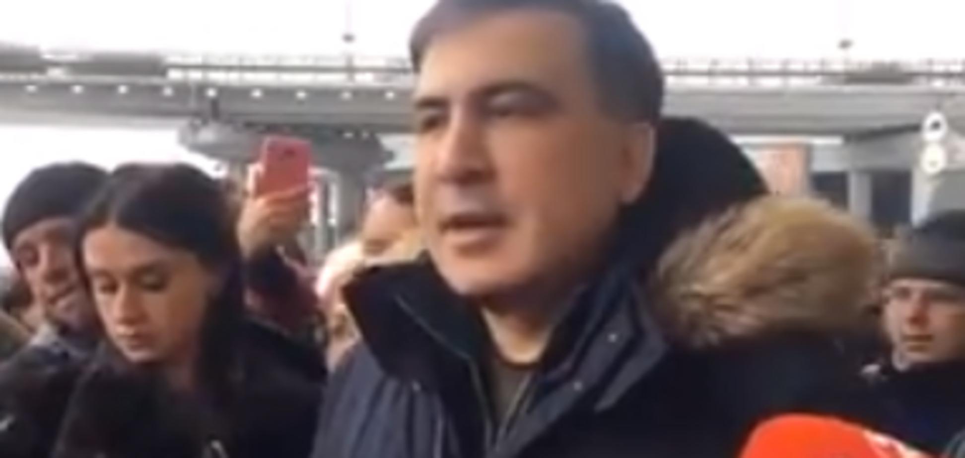 'Задержание' Саакашвили в Киеве: политик назвал причину появления 'Альфы'