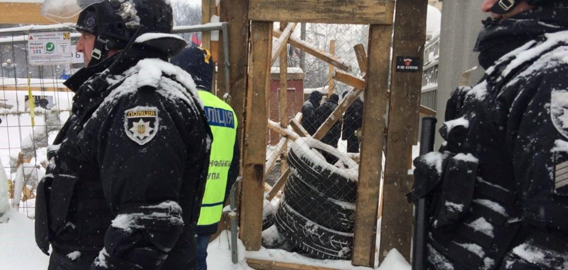 'Зачистка' палаточного городка под Радой: в полиции пояснили ситуацию