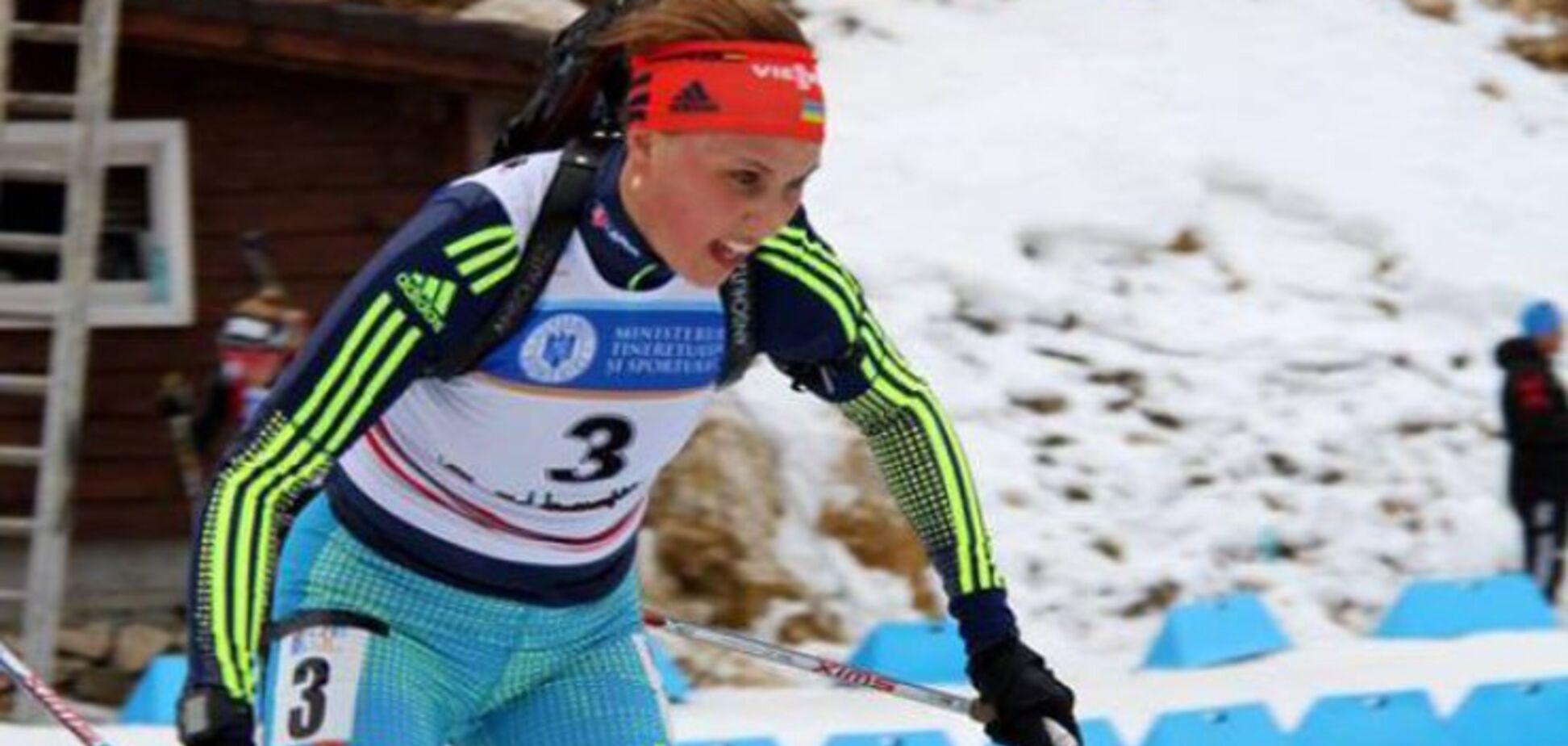 20-річна українська біатлоністка завоювала 'срібло' чемпіонату світу, вирвавши медаль у росіянки