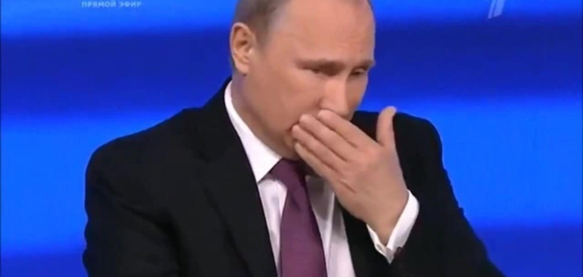 Кашлянье Путина дополняло картину пафосного маразма