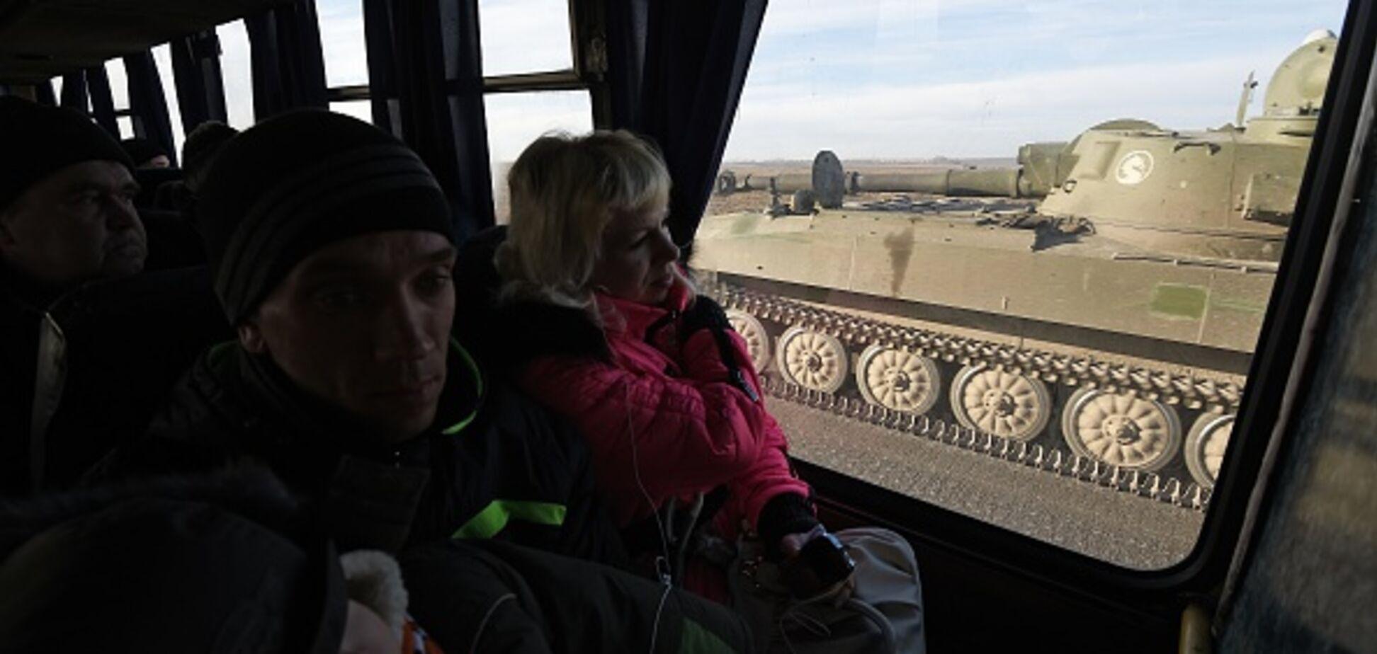 Росія перекинула на Донбас вагони з боєприпасами