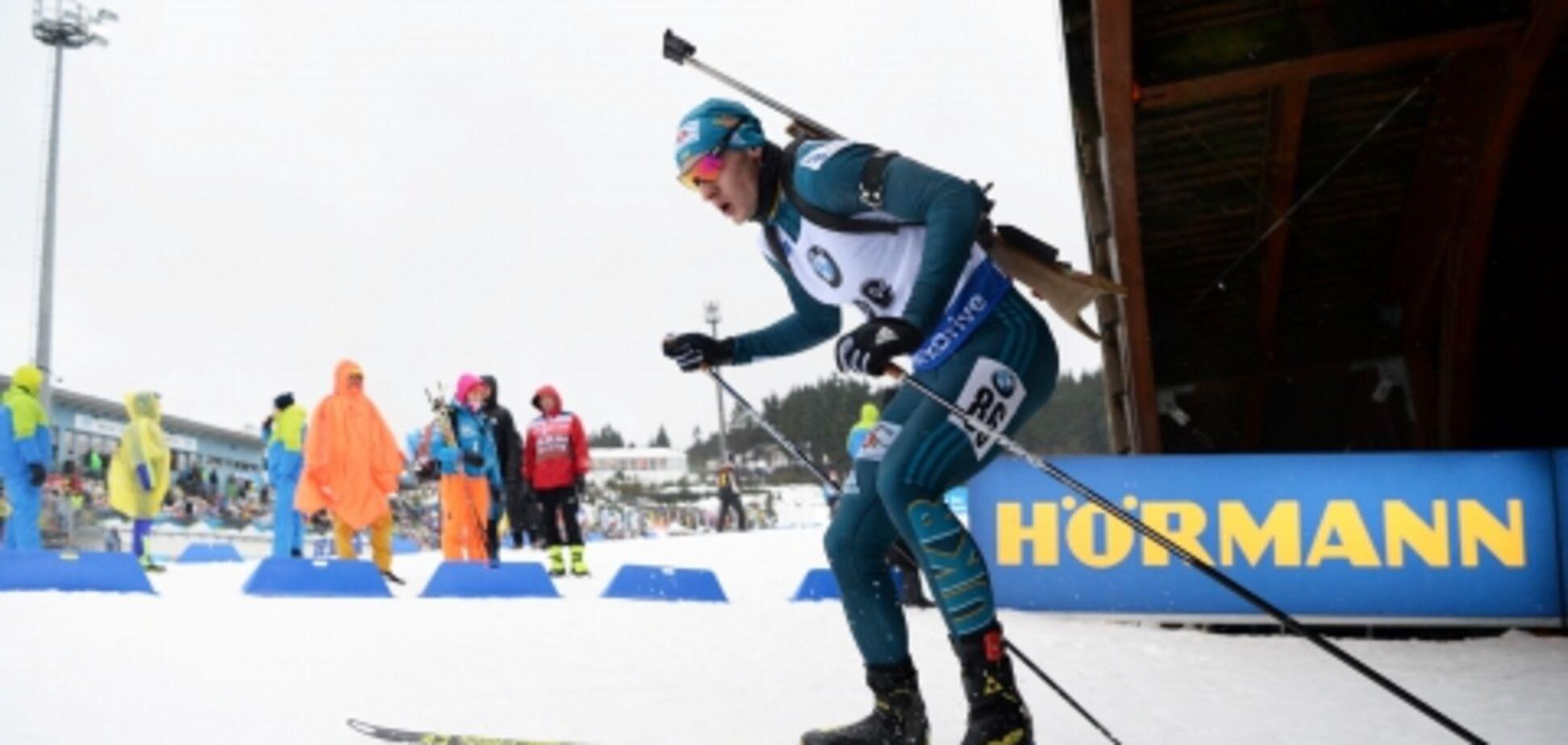 Україна прикро упустила медаль на Кубку світу з біатлону