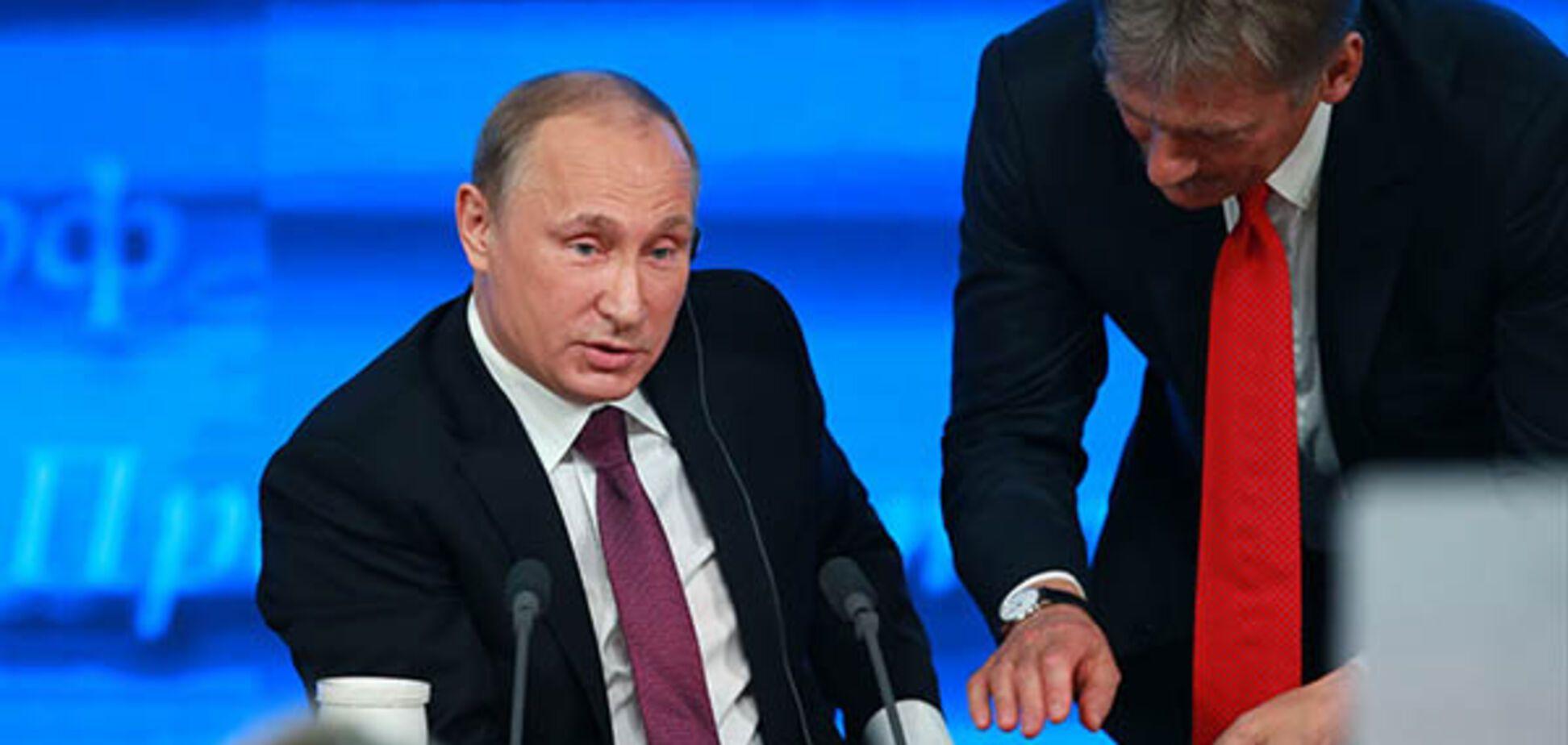'А пурга, как кокаин': Путин нарвался на волну насмешек из-за Пескова