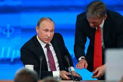 'А завірюха, як кокаїн': Путін нарвався на хвилю насмішок через Пєскова