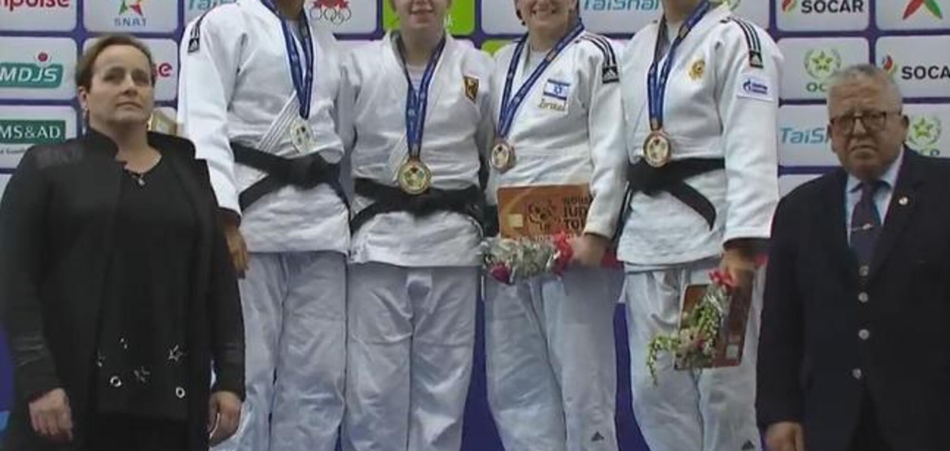 Україна виграла чотири медалі на Гран-прі Марокко по дзюдо
