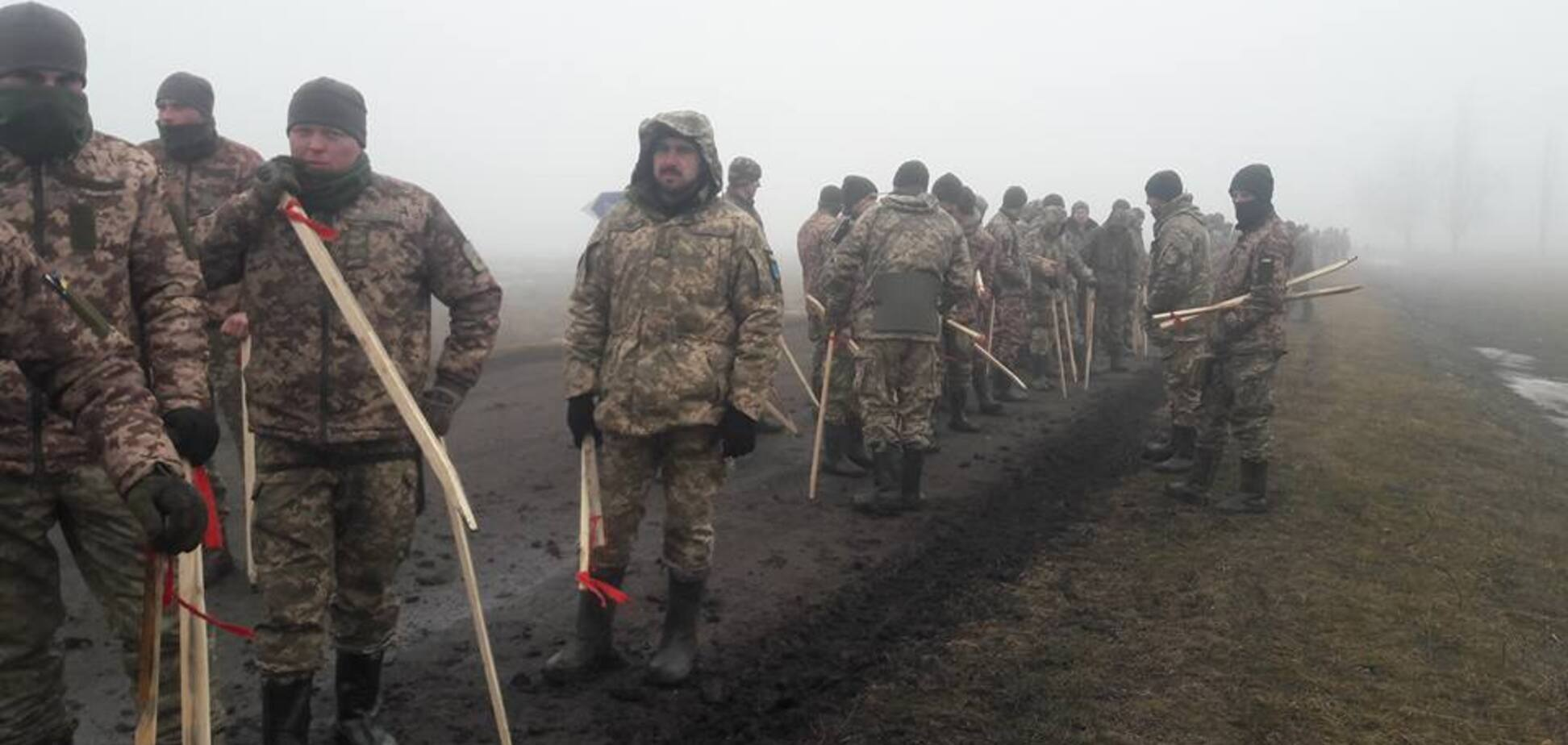 Военные на полигоне
