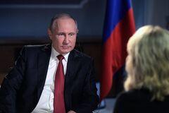 Интервью Путина: условный президент 'лепит горбатого' перед камерами