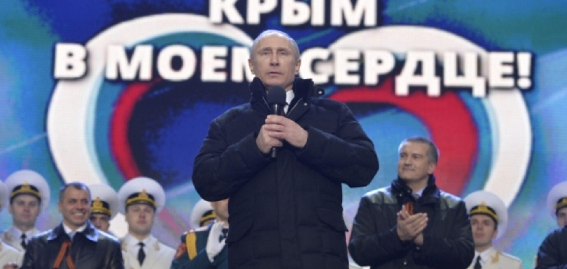 Путін відповів на питання з приводу повернення Криму Україні
