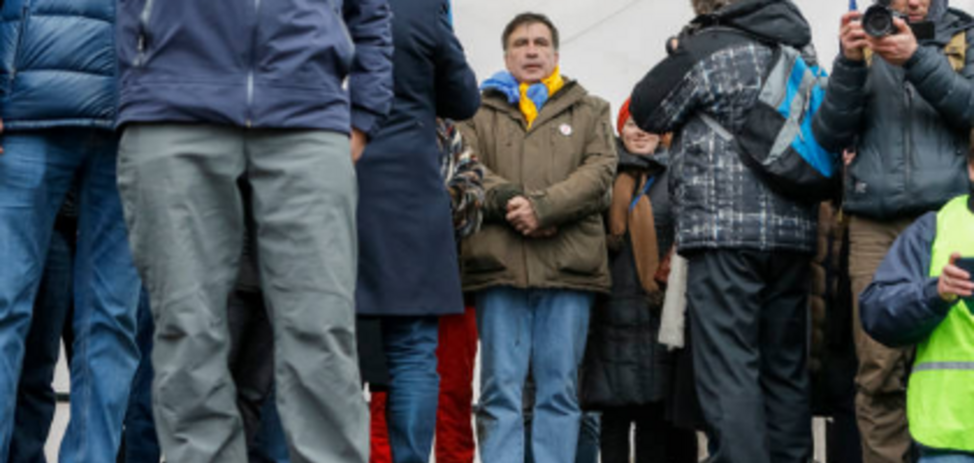 Офис Саакашвили в Киеве выставили на аренду