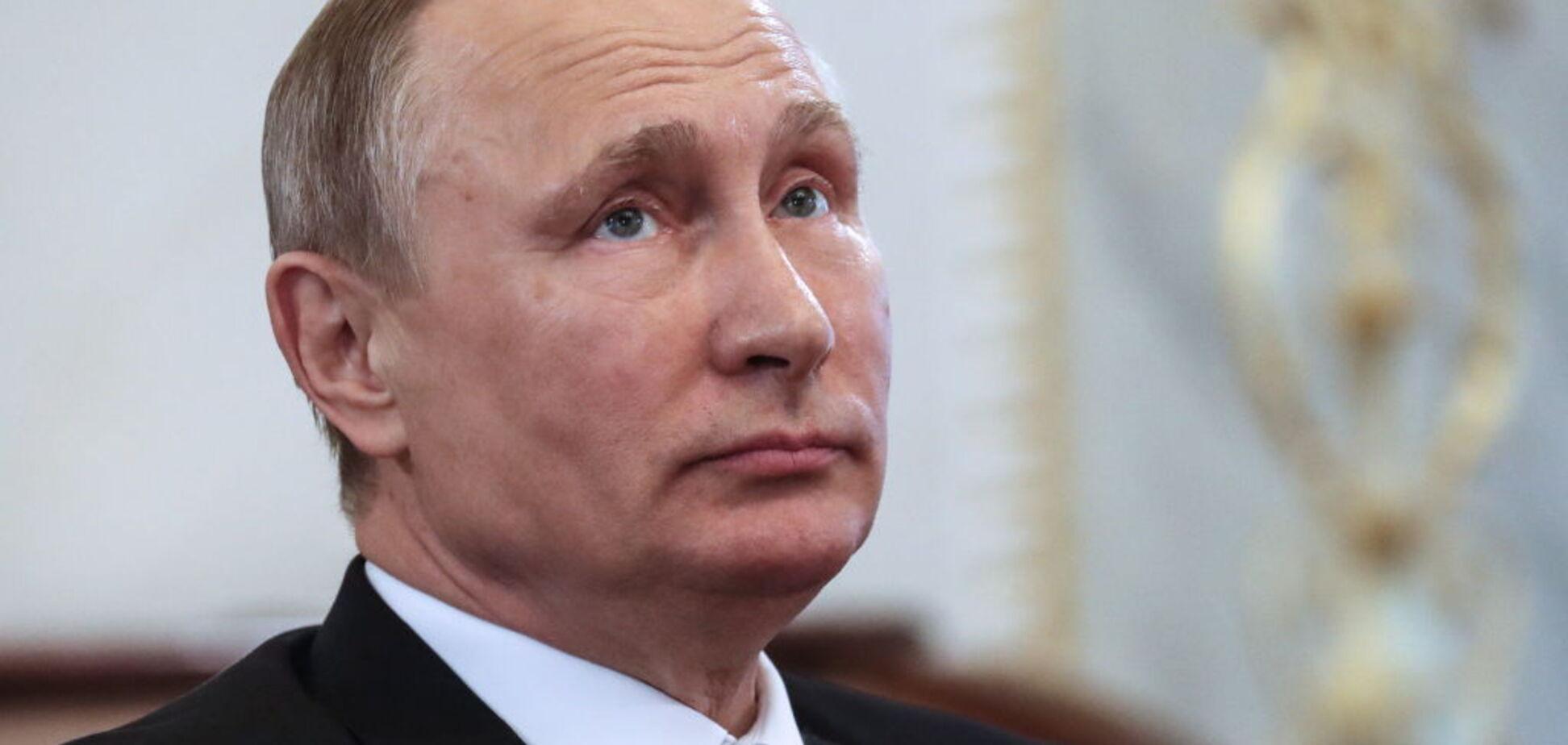 'Принес вам мир': ядерные угрозы Путина воплотили в емкую карикатуру