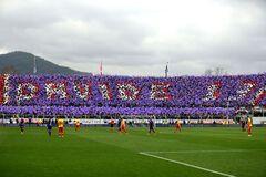 Фанаты 'Фиорентины' устроили фантастический перфоманс в память о Давиде Астори: фото и видео