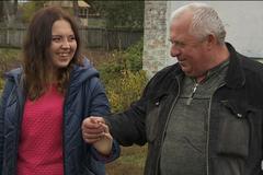 Таня Сирица с отцом