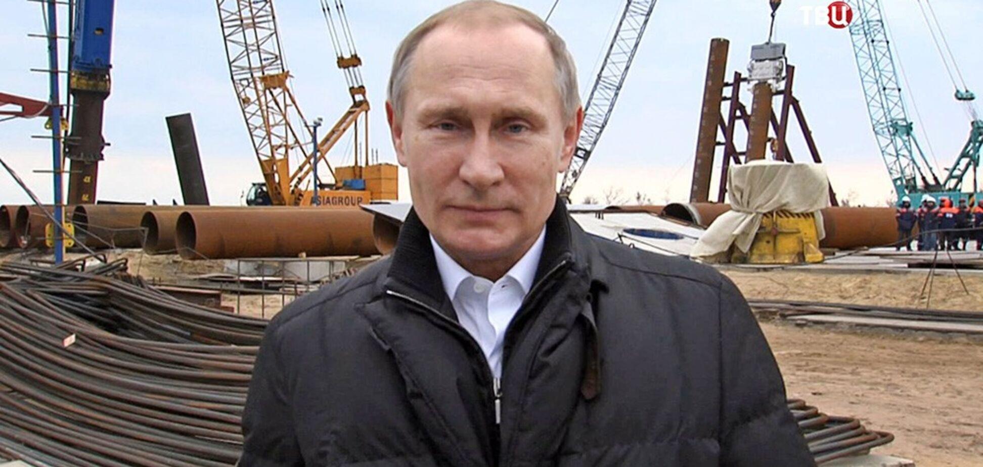 'Це небезпечно': Путіну порадили триматися подалі від Кримського мосту
